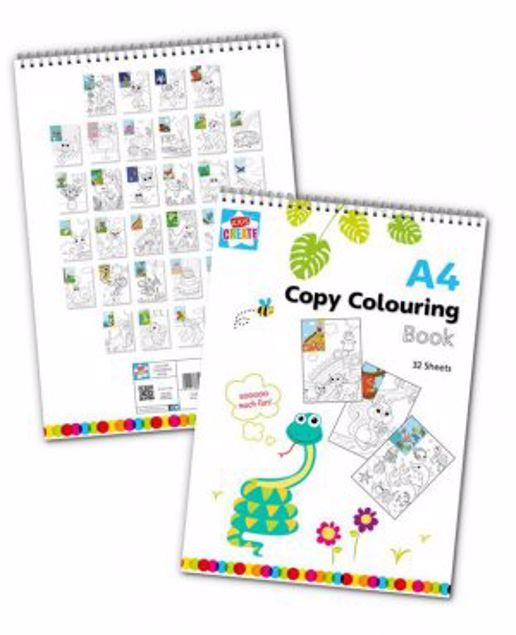 Picture of A4 Copy Colouring Book (Ctfr)