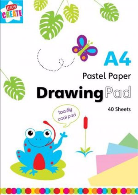 Picture of A4 Pastel Paper Drawing Pad (Suzp/2)