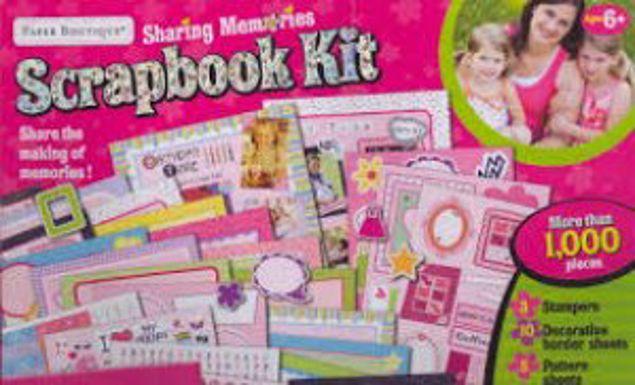 Picture of Sharing Memories Scrapbook Kit