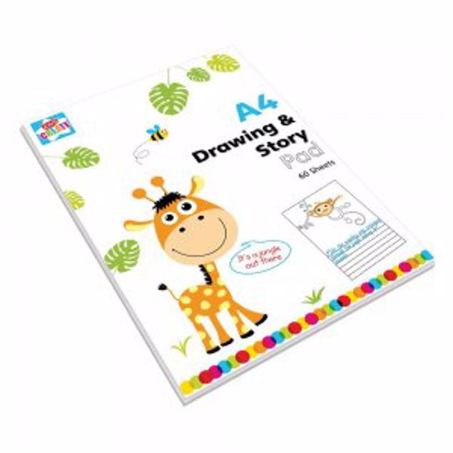 Picture of A4 Drawing And Story Pad (Drba)