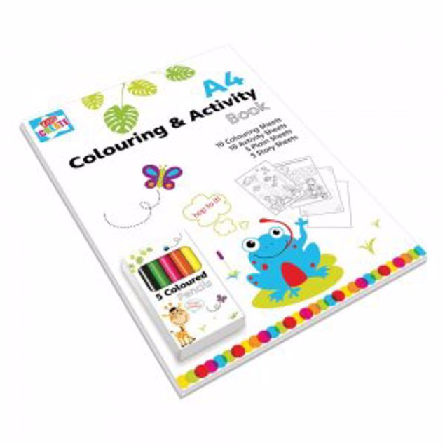 Picture of A4 Colouring And Activity Book