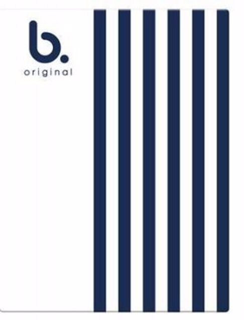 Picture of A4 Project Book White&Navy Blue (Bopb-)