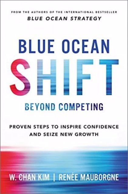 Picture of Blue Ocean Shift: Beyond Competing - Proven Steps To Inspire Confidence And Seize New Growth