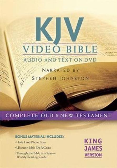 Picture of Kjv Video Bible: King James Version: Includes Bonus Dvd