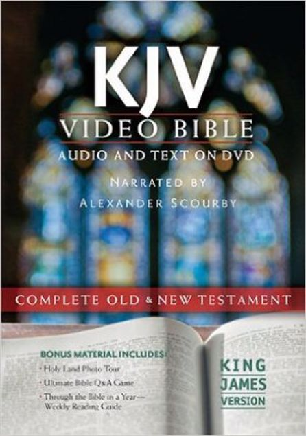 Picture of Holy Bible: King James Version, Video Bible, Complete Old & New Testament Dvd-Rom