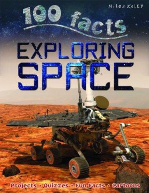 Picture of 100 Facts - Exploring Space