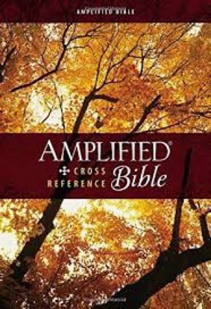 Picture of Amplified Cross-Reference Bible, Hardcover, Jacketed Printed
