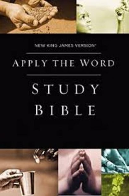 Picture of Apply The Word Study Bible