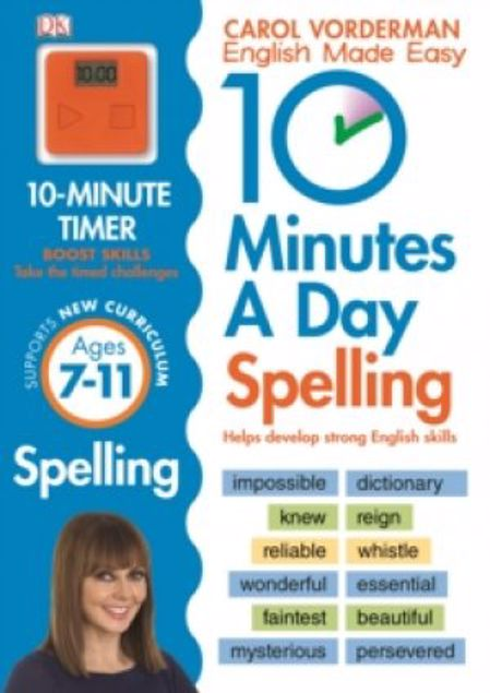 Picture of 10 Minutes A Day Spelling Ages 7-11