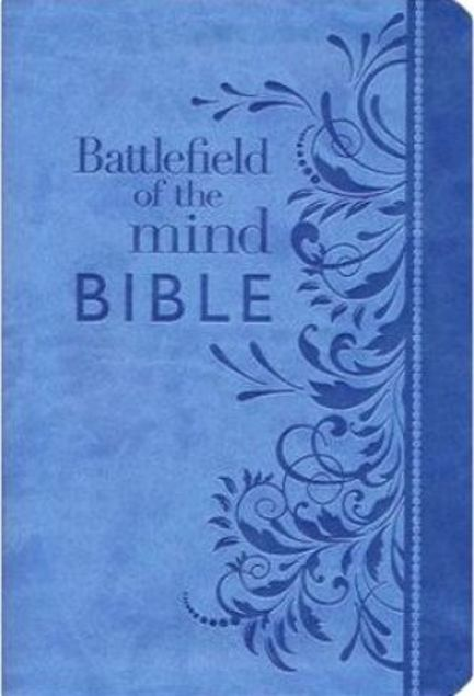 Picture of Battlefield Of The Mind Bible: Renew Your Mind Through The Power Of God's Word (Amplified Version)