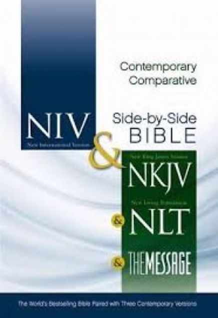 Picture of Contemporary Comparative Side-By-Side Bible
