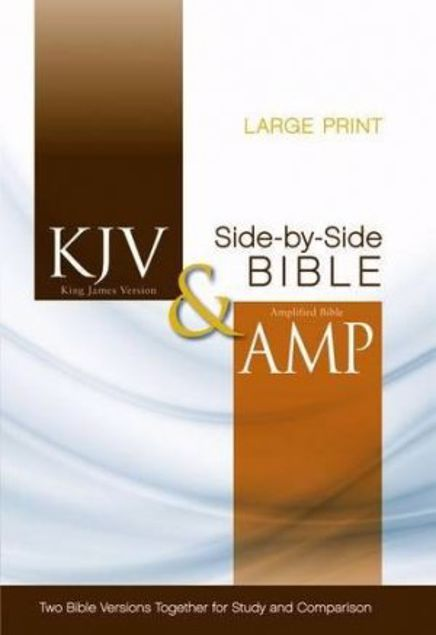 Picture of Kjv, Amplified, Parallel Bible, Large Print