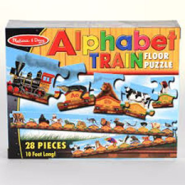 Picture of Alphabet Train Floor Puzzle