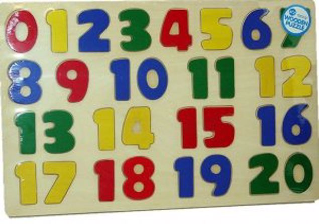 Picture of A To Z Wooden Puzzle