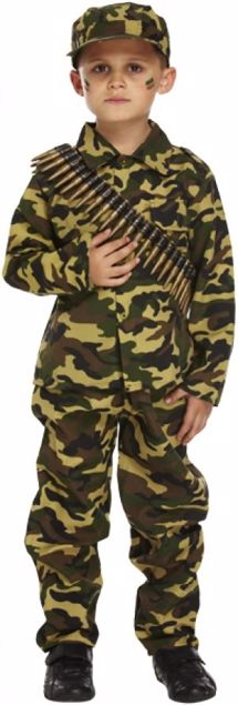 Picture of Army Boy Child's Costume (3 Yrs)