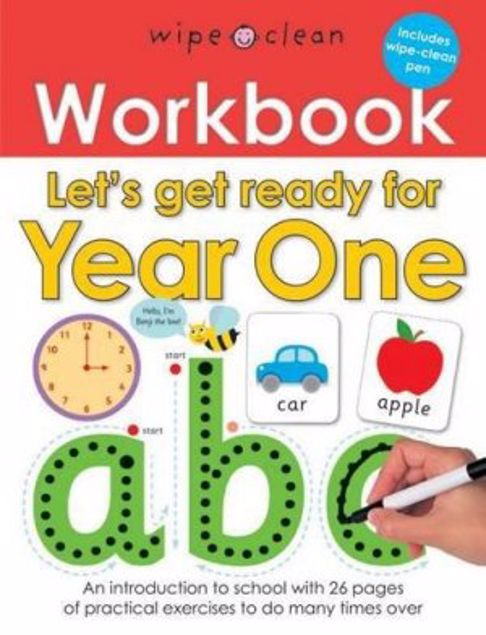 Picture of Let's Get Ready For Year One (Wipe Clean Workbooks)