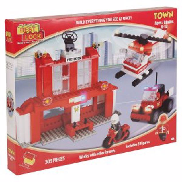 Picture of Best-Lock Construction Toys (Firefighters)