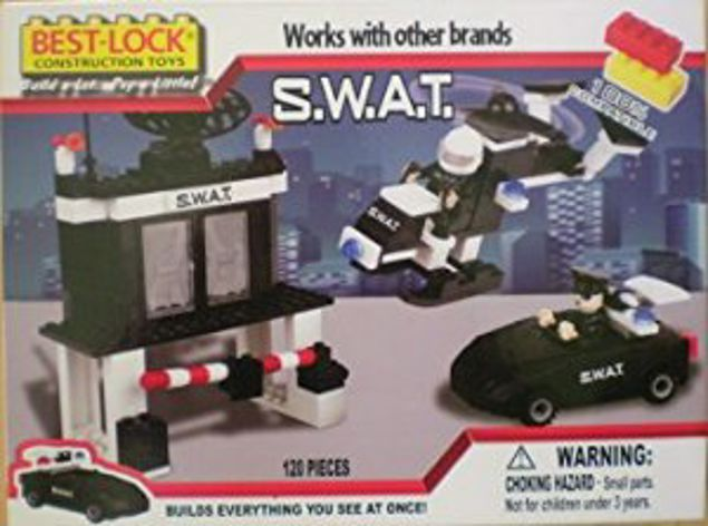 Picture of Best Lock Construction Toys (S.W.A.T)