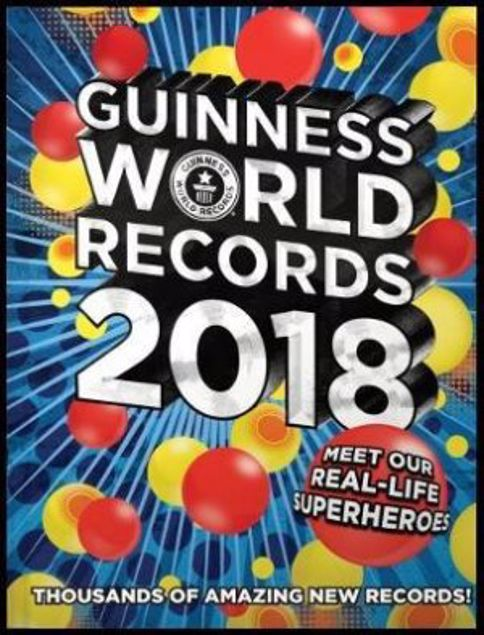Picture of Guiness World Records 2018