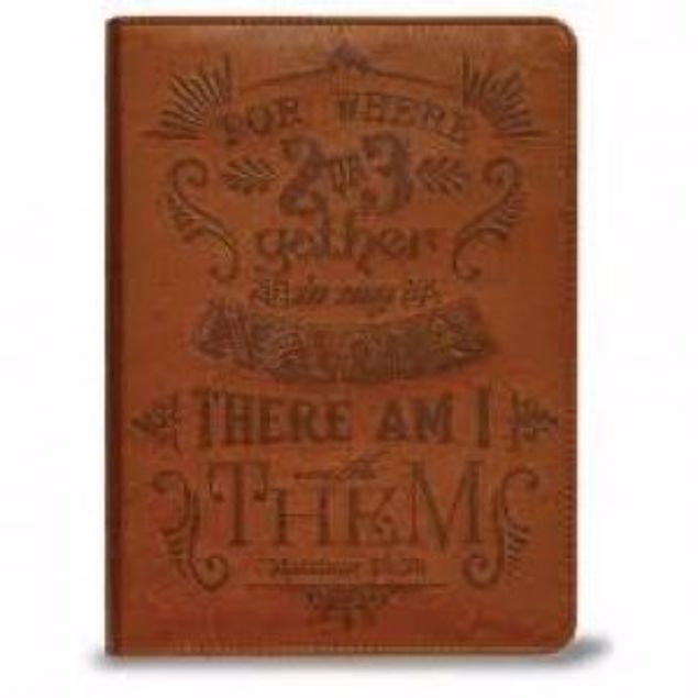 Picture of Journal- For Where 2 Or 3 Gather