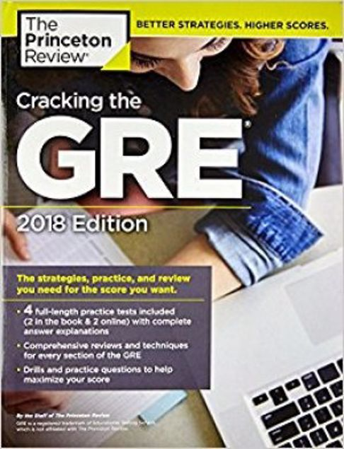 Picture of Cracking The Gre: 2018 Edition