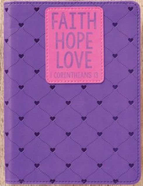 Picture of Journal-Faith Hope Love