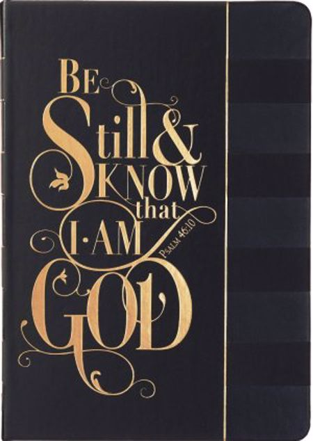 Picture of Be Still And Know Hardcover Luxleather Journal