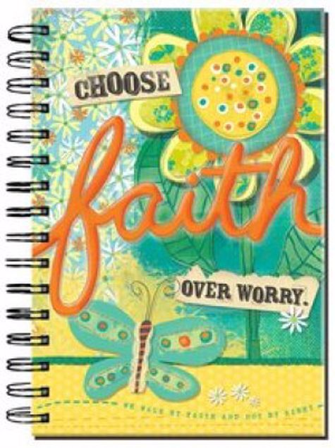 Picture of Choose Faith Over Worry Online - Spiral Journal