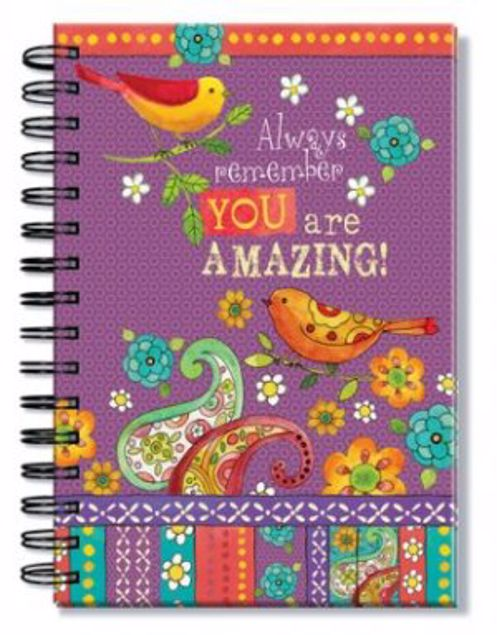 Picture of Always Remember You Are Amazing! - Wirebound Journal