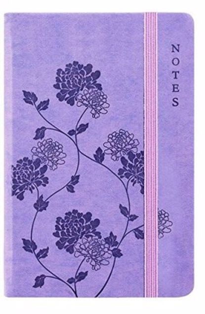 Picture of A5-Soft Lightly Ruled Notebook (Purple)