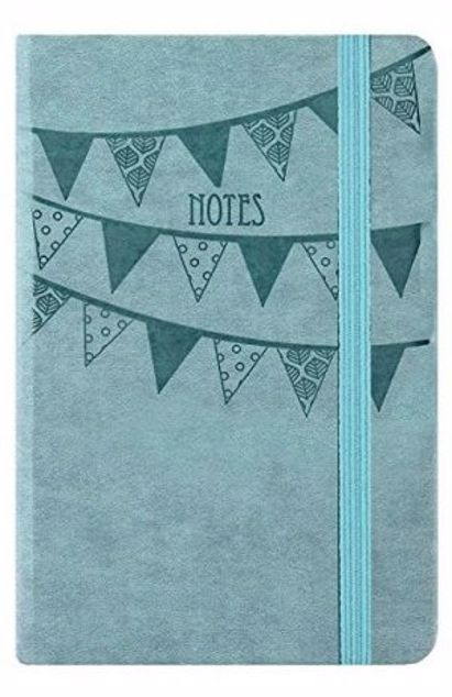 Picture of A5-Soft Lightly Ruled Notebook (Aqua)