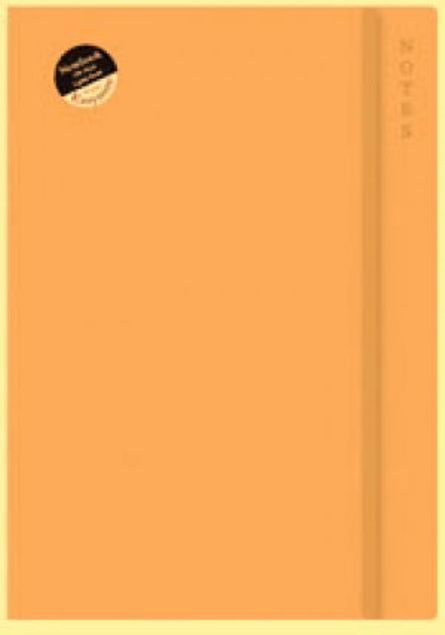 Picture of A4 Soft Touch Notebook 4 Rustic Dark Orangee
