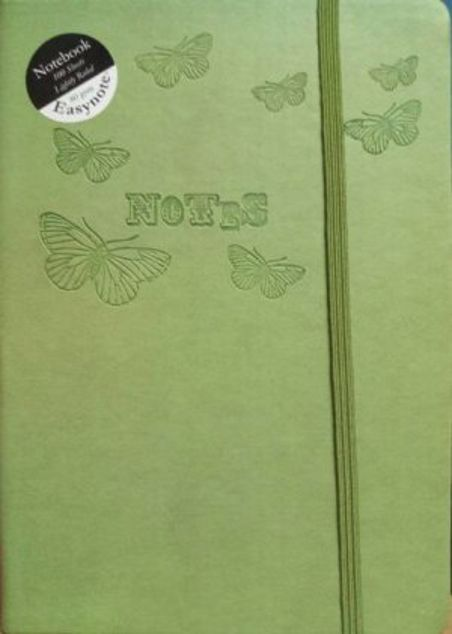 Picture of A5-Soft Lightly Ruled Notebook (Green)