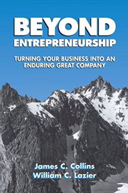 Picture of Beyond Entrepreneurship: Turning Your Business Into An Enduring Great Company