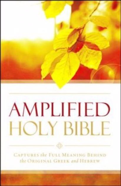 Picture of Amplified Holy Bible - Mass Market