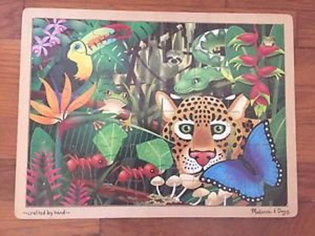 Picture of 48 Piece Wooden Jigsaw Puzzle