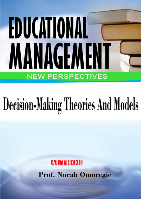 Picture of DECISION-MAKING THEORIES AND MODELS