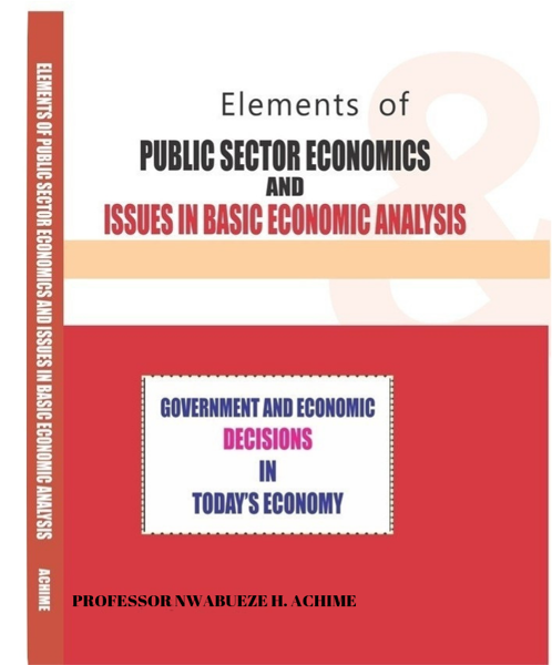 Picture of ELEMENTS OF PUBLIC SECTOR ECONOMICS AND ISSUES IN BASIC ECONOMIC ANALYSIS