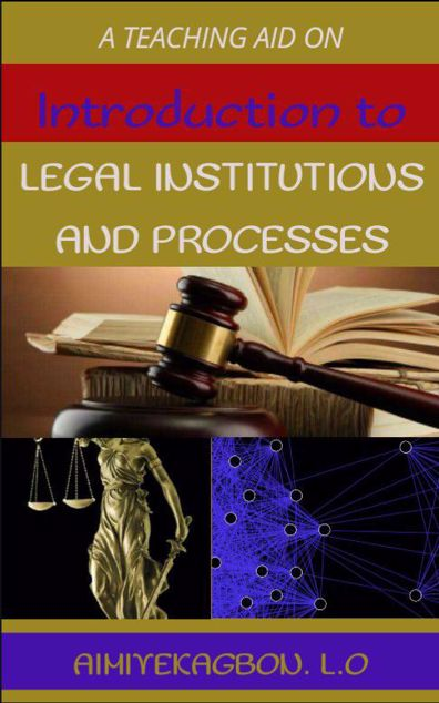 Picture of INTRODUCTION TO LEGAL INSTITUTIONS AND PROCESSES.