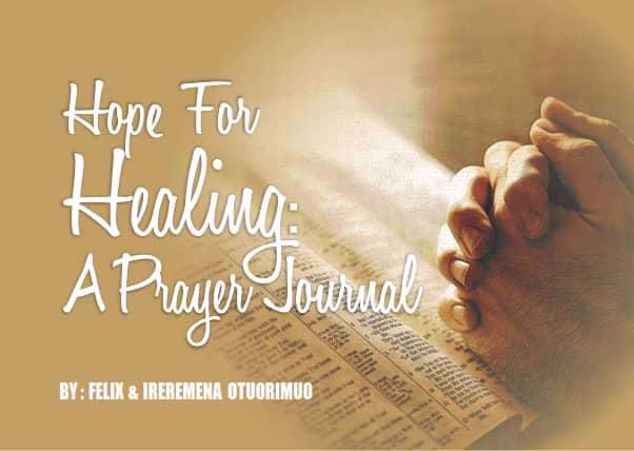 Picture of Hope For The Healing  Prayer Journal