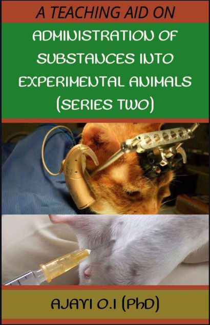 Picture of ADMINISTRATION OF SUBSTANCES INTO EXPERIMENTAL ANIMALS. (SERIES TWO)