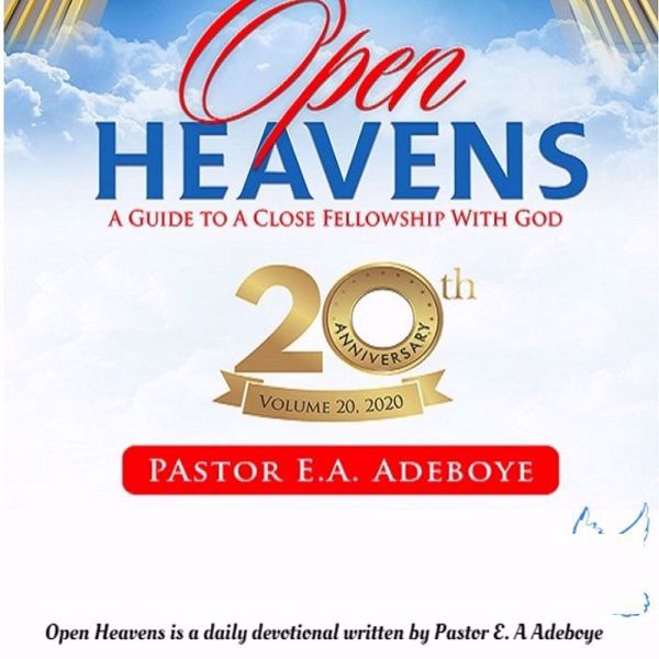 Picture of OPEN HEAVEN DEVOTIONAL 2020
