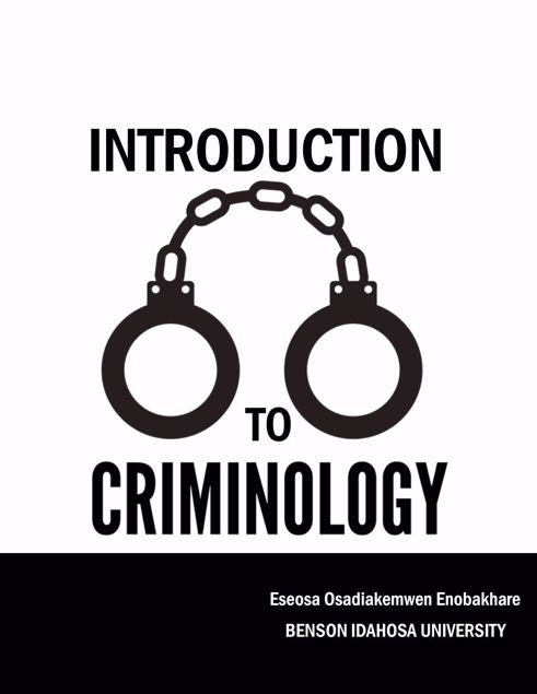 Picture of INTRODUCTION TO CRIMINOLOGY