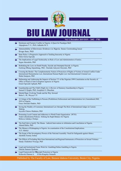Picture of BIU LAW JOURNAL