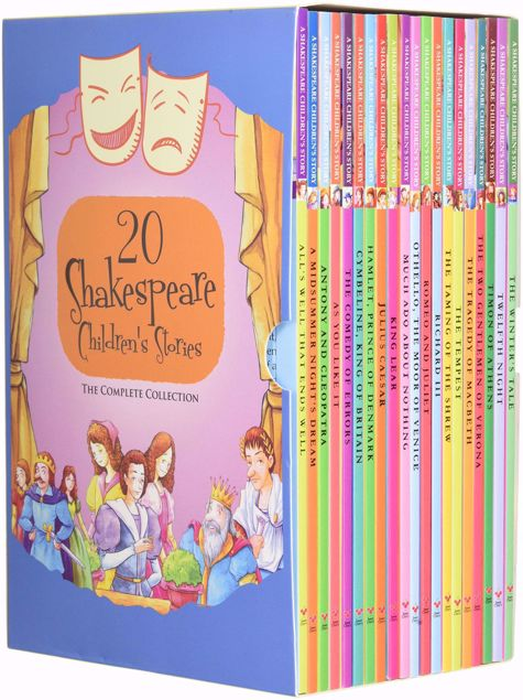 """Picture of 20 Shakespeare Children'S Stories €"""" The Complete 20 Books Boxed Collection"""