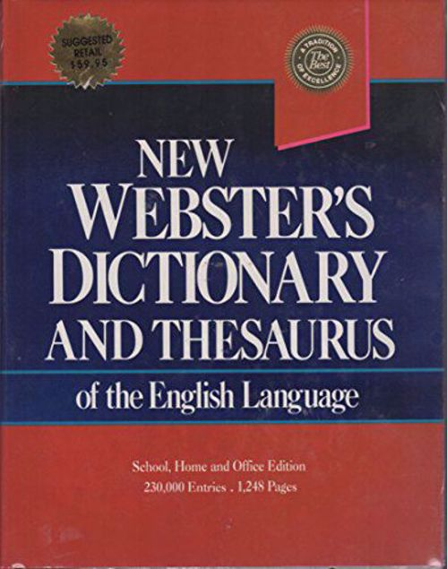 Picture of Ed-The New/Dictionary/Language