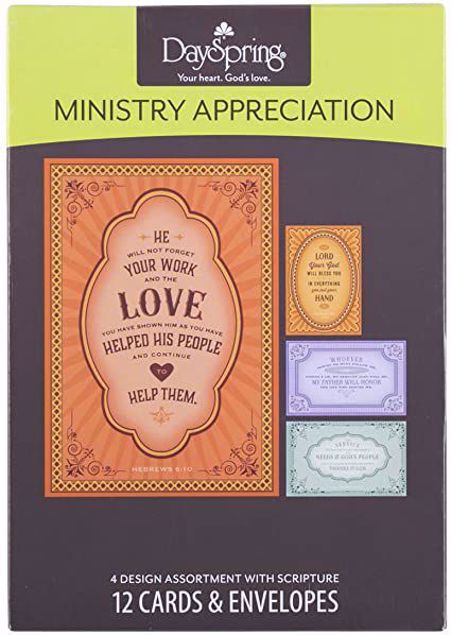 Picture of Ministry Appreciation Cards
