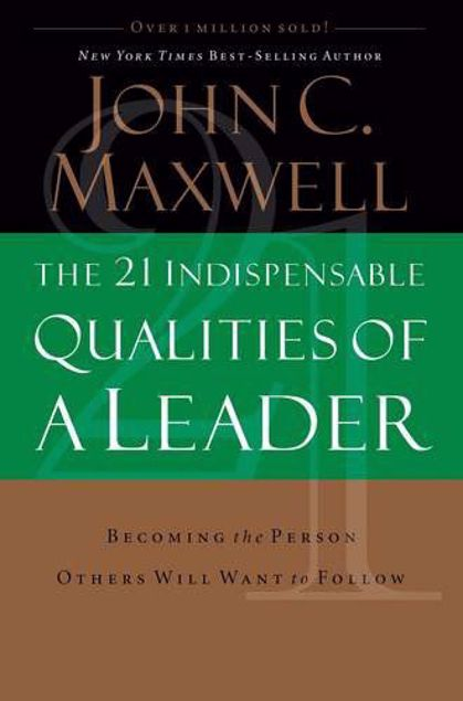 Picture of 21 Indispensable Qualities Of A Leader,Paper Cover