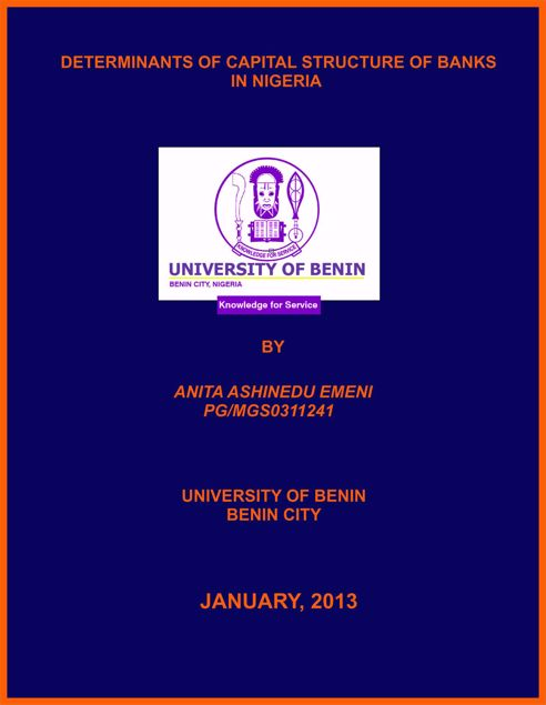 Picture of REGULATION OF NIGERIAN MICROFINANCE SECTOR: CHALLENGES AND PROSPECTS (A CASE STUDY OF LAPO MICROFINANCE)