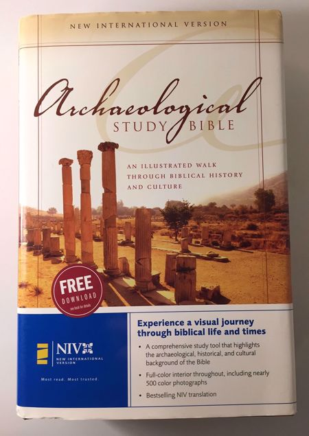 Picture of Archaeological Study Bible